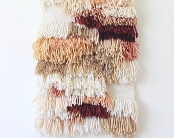 25% SALE! Ready to ship hand woven wall hanging | Woven tapestry