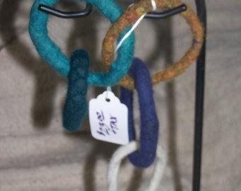 Felted Baby Rings