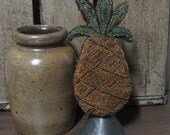 E Pattern Punch Needle Standing Pineapple PDF