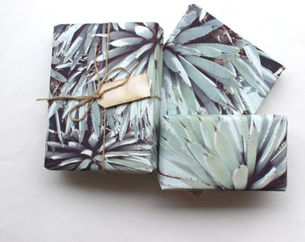 Desert Agave Gift Wrap Sheet - Cacti and Succulent Gift Wrap - Desert Southwest Gift Wrapping Paper