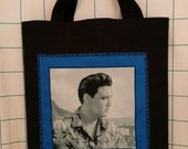 Elvis Tote Bag, Blue Hawaii, Young Presley