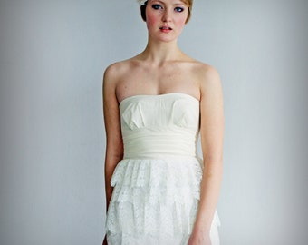 Fairy Tale Wedding Gown, white or ivory Made To Order
