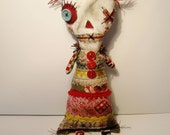Handmade Art Doll ( Raggedy Mim)