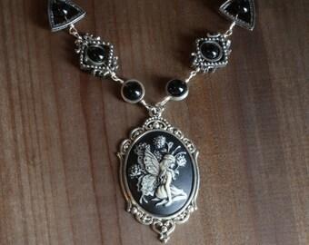 Neo Victorian Jewelry - Necklace - Woodland Fairy