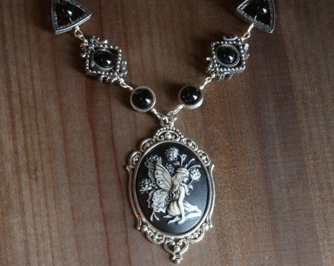 Neo Victorian Jewelry - Necklace - Woodland Fairy