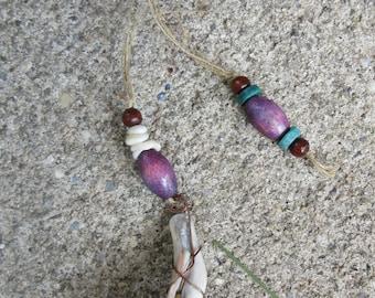 Whelk Shell Pendulum