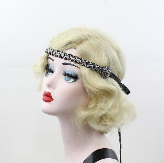 Items similar to Gunmetal Gray Headband - Pewter Hair