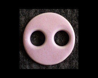 Handmade Ceramic Buttons: Vintage Lingerie Style