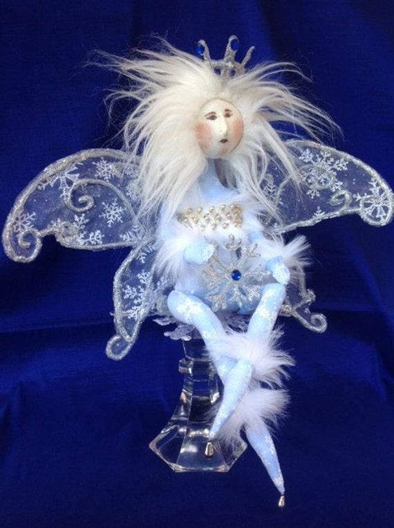 Cloth Doll E-Pattern Amazingly Beautiful Winter Wonderland Fairy
