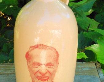 Bukowski jug moonshine whiskey handmade