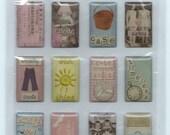 Provo Crafts Etcetera Jemz Epoxy Stickers - Photo Collage Pastels 2 - SC031