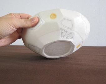 Geometric Pasta Bowl