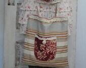French Market Bag with Oversized Pocket