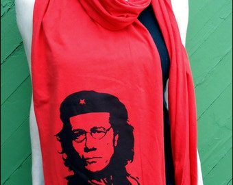Commander Adama Red Jersey Scarf