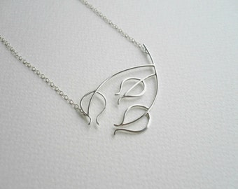 NEW - Wiveton Necklace one. Sterling Silver Seedhead Necklace by Kirsty O'Donnell