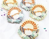 LIMITED EDITION Indian Summer Golden Hour Pin Badge