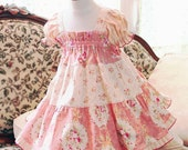 Pink Toddler Dress Girl Toddler Gift Summer Toddler Girl Clothes Cotton Baby & Toddler Dress Size 3 6 9 12 18m 2T 3T 4T Rose Toddler Outfit