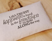 Blush Pink Lavender Pillow Sachet, Friend Moving Away Gift, Best Friend Birthday, Long Distance Friendship Gift