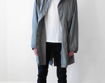 Hooded Military style Anorak Jacket