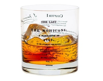 Last of the Mohicans - Literature Rocks Glass