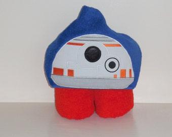 Hooded Towel- Robot