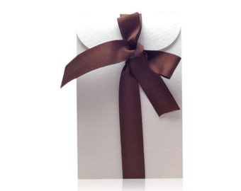 Floral Embossed Gift Bag Add-on for Body Oils, Elixirs & Serums