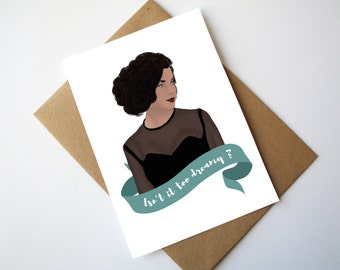 Twin Peaks Card Audrey Horne - Isn't it too dreamy ? Save the Pine Weasel