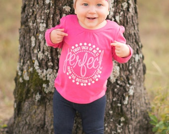 Perfect Baby Girl Infant Graphic Tee
