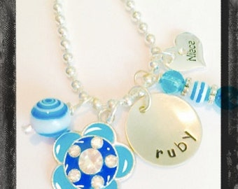 Personalized Niece, Little Sister of Big Sister Necklace - Custom handmade Jewelry #Q23