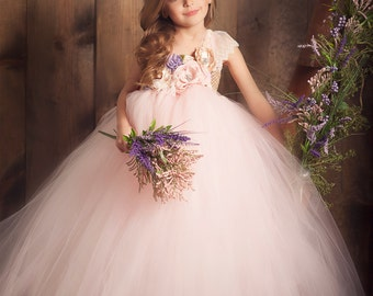 Blushing Lilacs Tutu Dress
