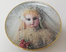 Hanau Doll Museum PORTRAIT OF BRIGITTE Limited Edition Franklin Mint Collectors Plate, Collectible, Collection, Plate, Franklin Mint, Sale