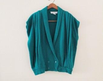 80's Oversized Knit Vest