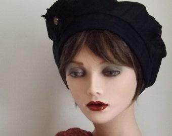 Fabric Hat, Black Watch Tartan Tam