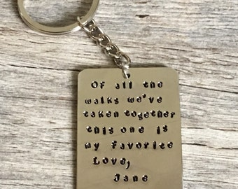 father of the bride gift, gift for dad, wedding day gift for dad, from daughter to dad, dad gift, thank you for walking me down the aisle,