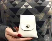 Mini Leather Purse , Credit Card Holder, Small Leather Purse , Business Card Cases