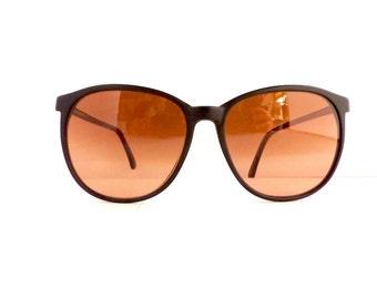 Serengeti Drivers Sunglasses Frames Women's 1980's/1990's Black Matte Frames Corning Optics Model 6247K Made in Hong Kong #M300  DIVINE