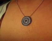 Be my valentine - Evil eye necklace - evil eye jewelry - turkish evil eye - kaballah jewelry - valentine gifts for her - girlfriend - mother