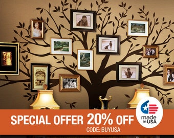 Wall Decals Kids Wall Decals Nursery Family Tree Decals for Home and Baby Nursery