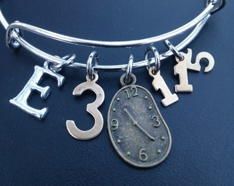 SCRIPTURE BRACELET, Christian Bracelet, ECCLESIASTES 3:1-15- There is a time for everything under the sun, God's timing, Trusting God,