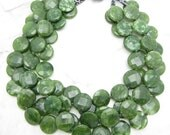 Statement Necklace [Chunky Green Collar Multi Strand Statement Necklace] CAMO