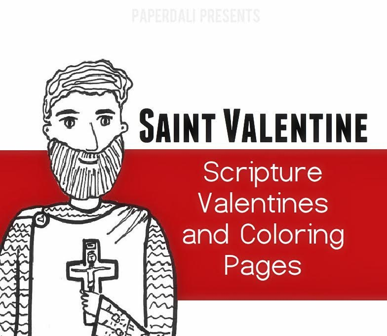 St valentine valentines and coloring page printable for St valentine coloring pages catholic