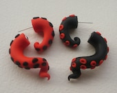 Mix and Match Harley Quinn Tentacle Earrings