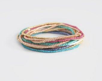 Beaded Bracelet - Petite Neeva