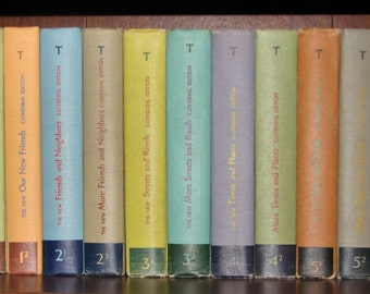 1947 Rare Alice And Jerry Teachers Big Book 16 X 19 By
