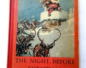 The Night Before Christmas - 1937 First Edition illustrated by Reginald Birch