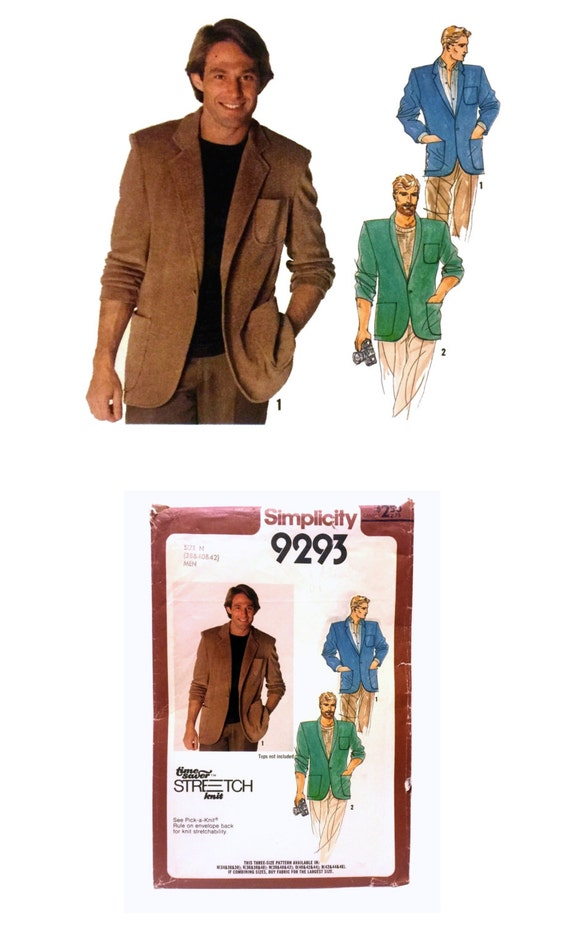 mens blazer sewing patterns sweater and boots