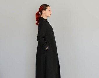 1960s Floor Length Coat - Vintage 60s Evening Coat - Matrix Coat