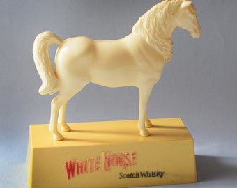 Vintage White Horse Whisky Bar Display Advertising