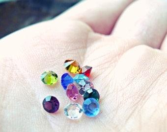Crystals for Floating Keepsake Living Lockets - Birthstones - Birthstones For Floating Lockets