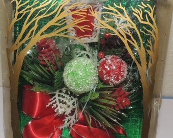 1950s Holiday Corsage in the original box